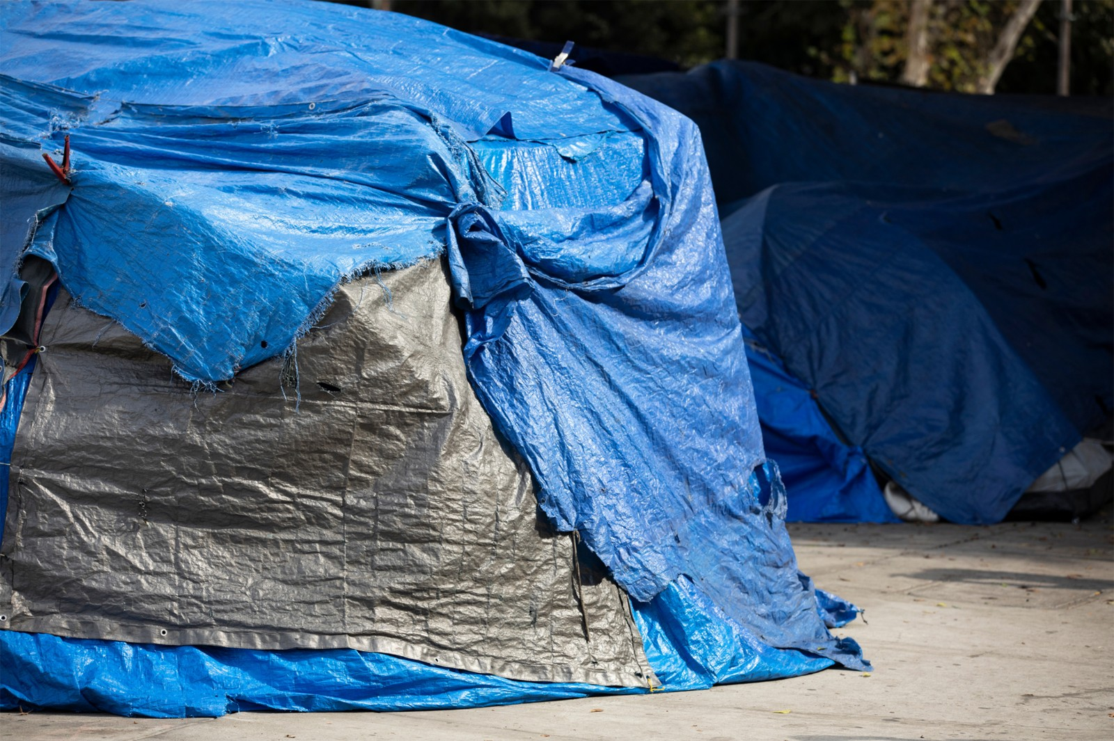 Homeless Camp in Portland | Marc For Oregon Governor